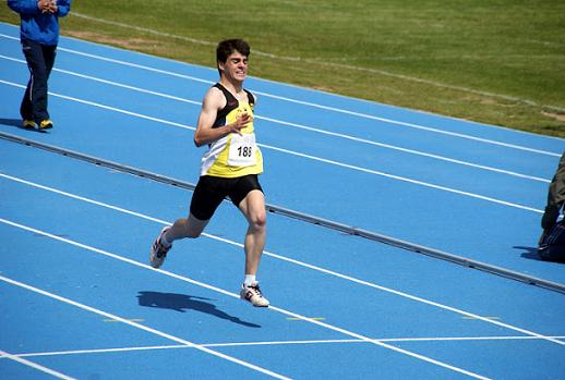 100ml cadete - Cto Atletismo Provincial Toledo 2012 (Foto CASanIldefonso)