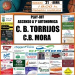 Cartel CB Torrijos - CB Morar Playoff ascenso