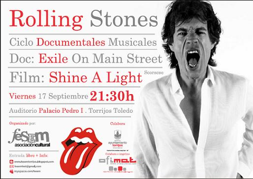 Cartel Fesem Docus Musicales The Rolling Stones