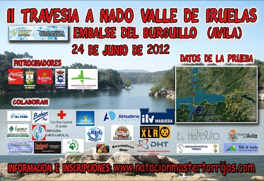 cartel II Travesía Valle Iruelas 2012