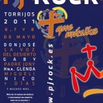Cartel PJ Rock - Torrijos 2011